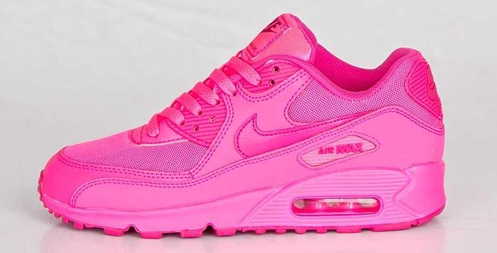 air max 90 femme rose fluo