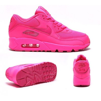 basket nike air max rose fluo